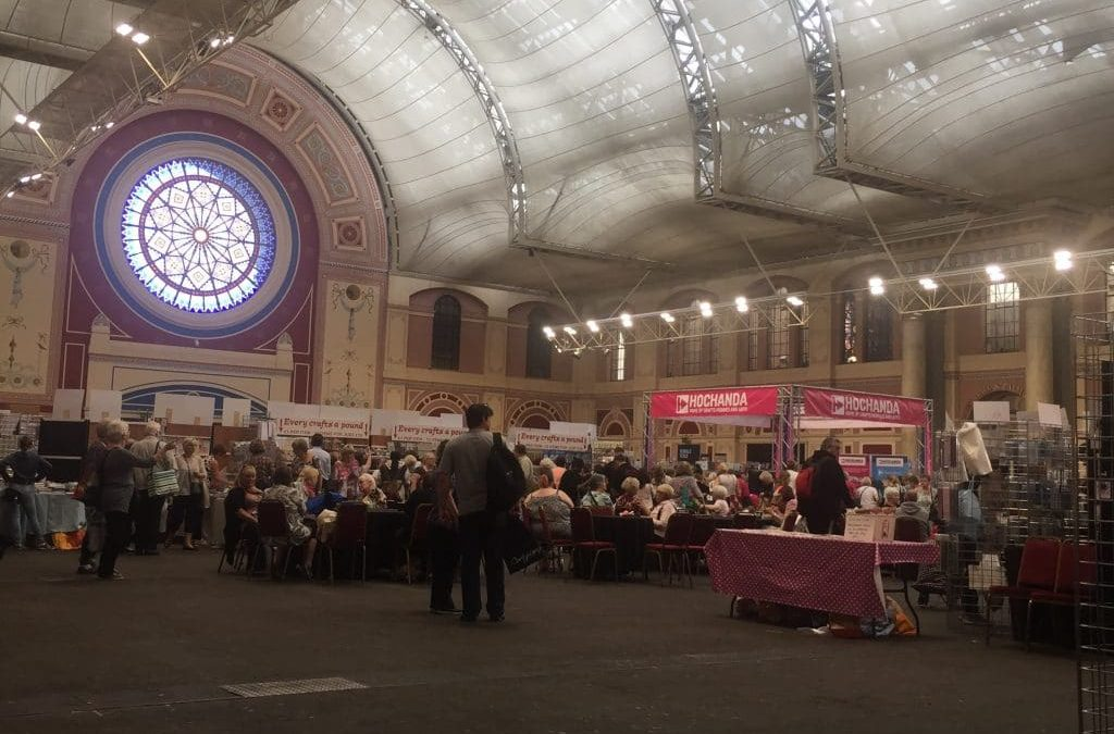 Crafting at Ally Pally!