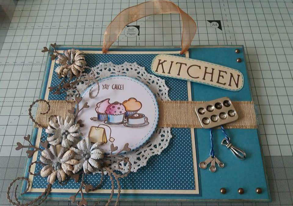 Project: Cake Kitchen Plaque