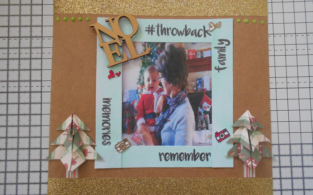 Christmas Scrapbook Layout with Lauren John