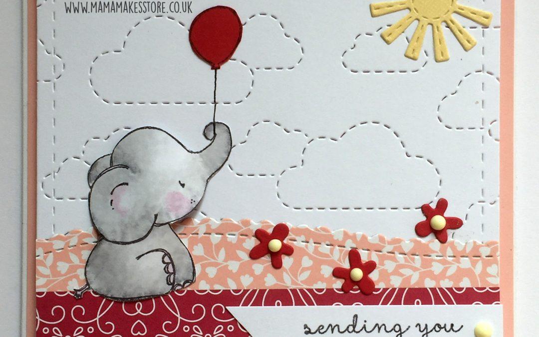 Cute Elephant card – Anne Richardson