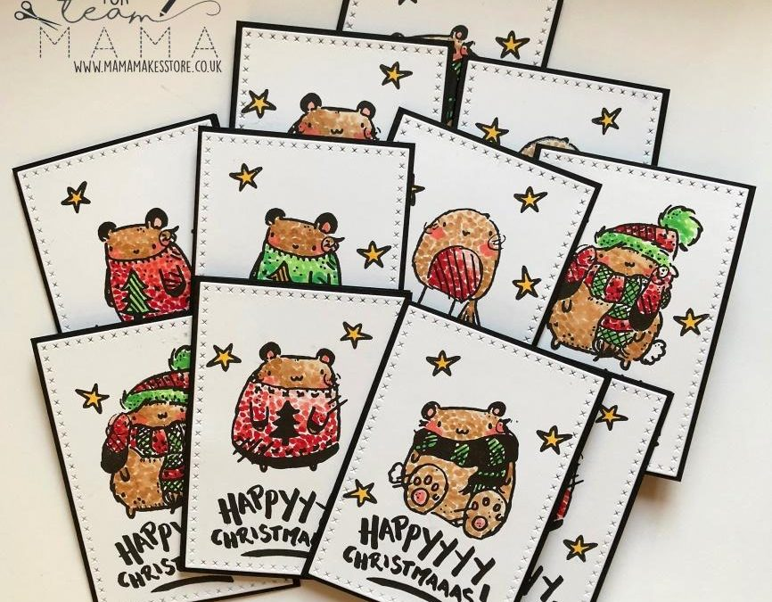 Cute Copolop Christmas Cards – Anne Richardson