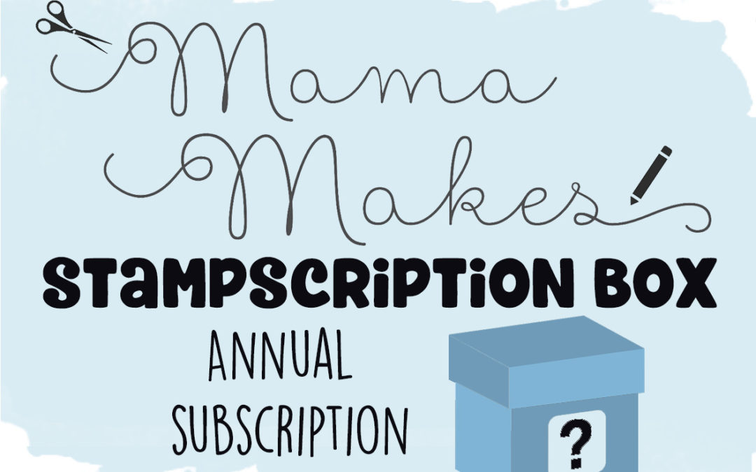 Stampscription Box – Annual Subscription (from July Box)