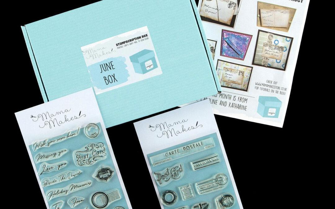 June 2020 Stampscription Box