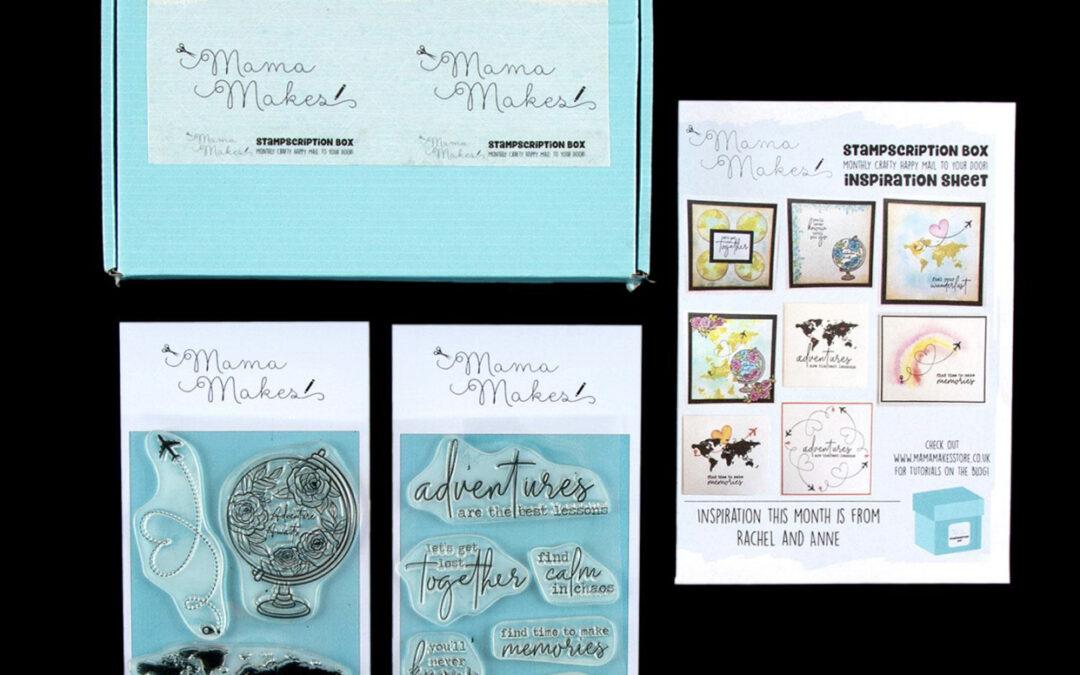 July 2020 Stampscription Box