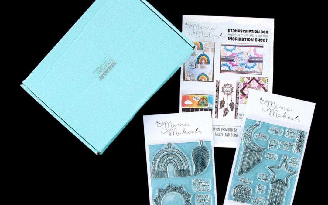 September 2020 Stampscription Box