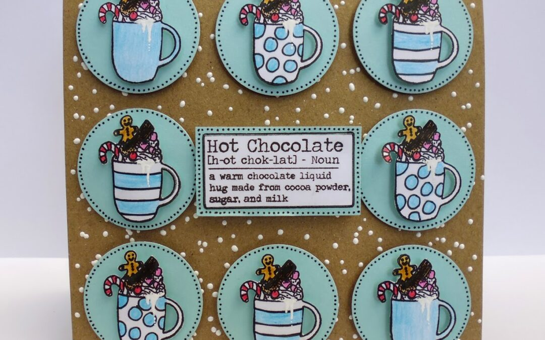 Yummy Hot Chocolate Card (Tutorial)